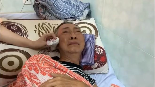 Nghệ sĩ Lê Bình 3 ngày không ăn, đau đớn bật khóc khi Đại Nghĩa, Trịnh Kim Chi đến thăm  - Ảnh 5.