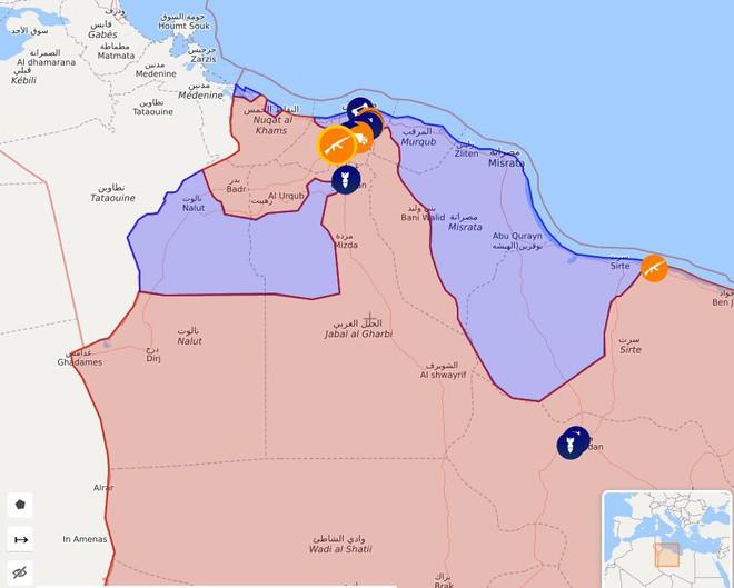 Libya nóng chưa từng có - Bị đánh úp LNA thất thủ ở căn cứ KQ đặc biệt quan trọng, ra lệnh tử chiến - Ảnh 5.