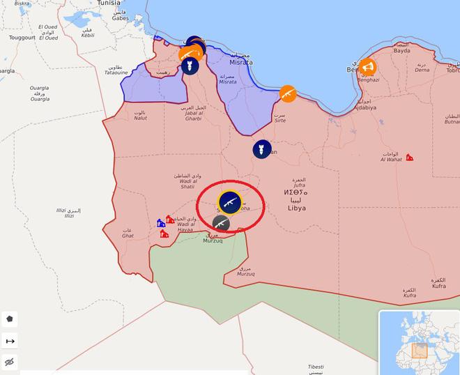 Libya nóng chưa từng có - Bị đánh úp LNA thất thủ ở căn cứ KQ đặc biệt quan trọng, ra lệnh tử chiến - Ảnh 4.