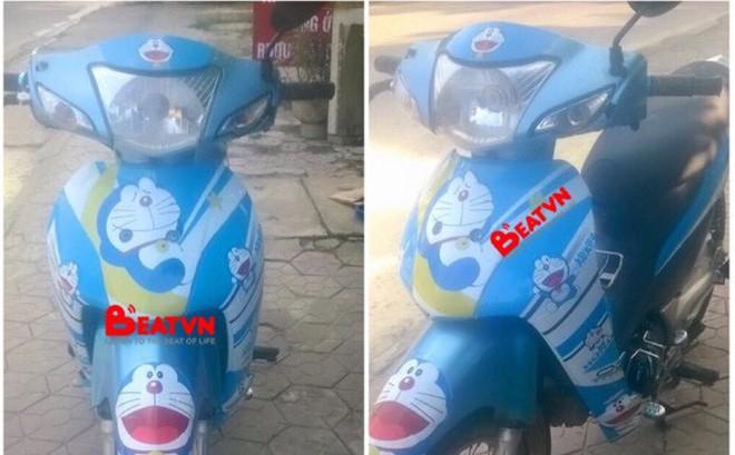 Chàng trai 23 tuổi bị bạn gái chia tay chỉ vì... chiếc xe máy dán hình Doraemon