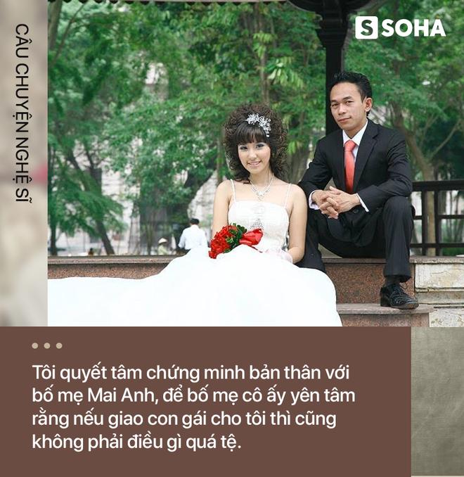 Hôn nhân ly kỳ như truyện cổ tích của diễn viên xấu nhất showbiz Việt và hot girl phố cổ kém 10 tuổi - Ảnh 5.