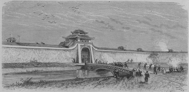 Thực dân Pháp tiến đánh Bắc Kì lần thứ nhất: Nguyễn Tri Phương anh dũng hy sinh - Ảnh 1.