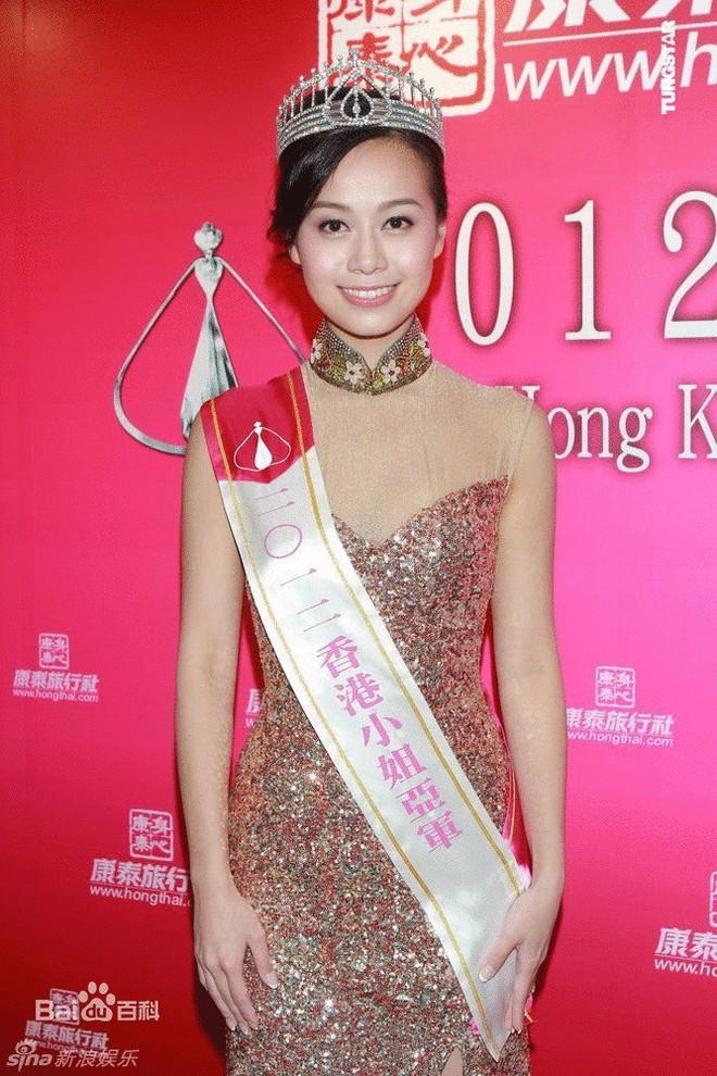 Nhan sắc gợi cảm của Á hậu Hong Kong lộ clip nóng với chồng đàn chị - Ảnh 2.