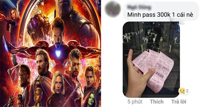 Nở rộ dịch vụ nhận đặt vé Avengers: Endgame ăn chênh, hàng chợ đen đắt gấp 3 lần - Ảnh 1.