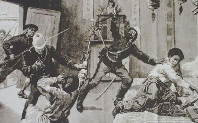 Cuộc phản công quân Pháp của phái chủ chiến sự bùng nổ phong trào Cần Vương