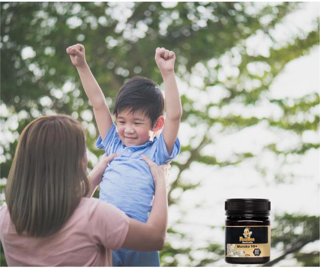 Bảo vệ hệ miễn dịch của trẻ với mật ong Manuka - Ảnh 2.