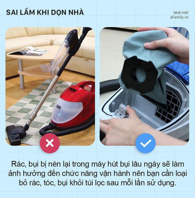 5 sai lầm khi dọn dẹp nhà cửa khiến nhà càng dọn càng bẩn hơn - Ảnh 6.