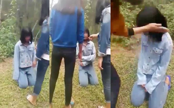 Buộc thôi học có thời hạn nhóm nữ sinh bắt bạn quỳ rồi tát liên tục vào mặt