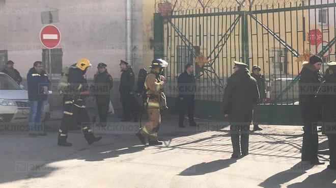 Nổ lớn ở Học viện quân sự quy mô nhất ở Nga, có thương vong - Tình trạng khẩn cấp - Ảnh 1.