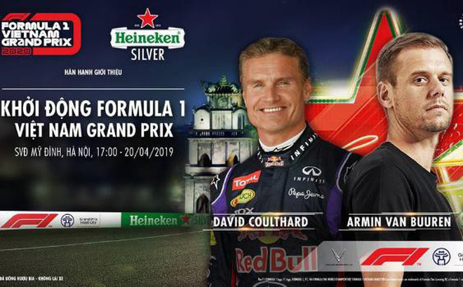 Tối nay, lần đầu tiên xe đua F1 chạy biểu diễn tại Hà Nội