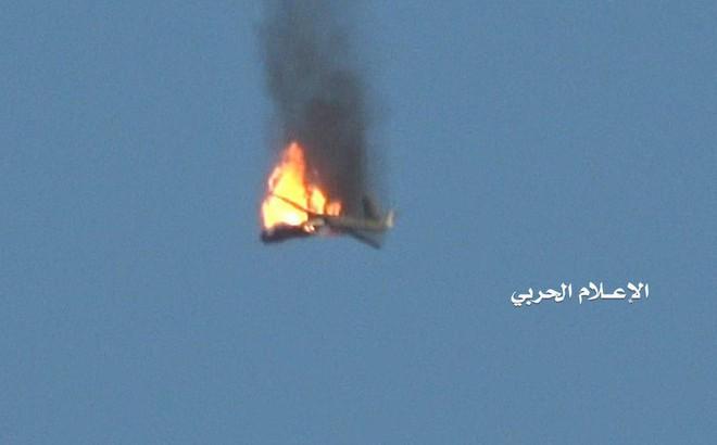"""Máy bay """"Made in China"""" lớn chưa từng thấy bị hạ ở Yemen: Cú tát mạnh vào CNQP Trung Quốc"""