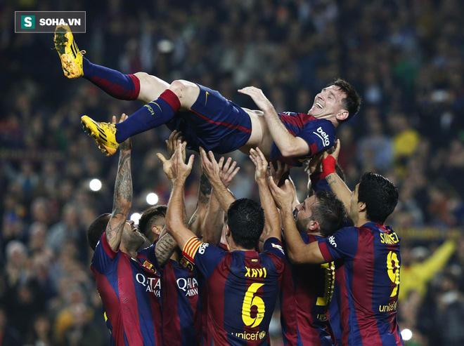 Lập thành tích vô tiền khoáng hậu, Ronaldo vẫn phải ngửi khói Messi - Ảnh 2.