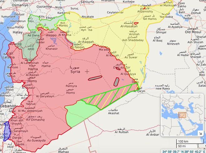 IS đánh thảm bại quân đội Syria ở Deir Ezzor, hơn 50 quân nhân thiệt mạng - Ảnh 1.