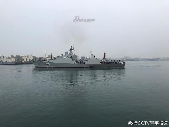 [ẢNH] Gepard 3.9 Việt Nam sánh vai cùng dàn chiến hạm hiện đại tại Trung Quốc - Ảnh 1.