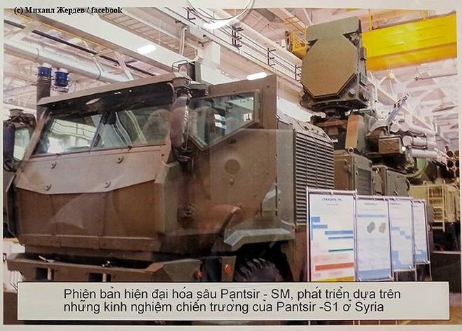 [ẢNH] Thương đau tại Syria giúp Nga hoàn thiện quái thú Pantsir phiên bản SM - Ảnh 12.