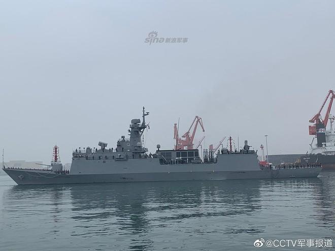 [ẢNH] Gepard 3.9 Việt Nam sánh vai cùng dàn chiến hạm hiện đại tại Trung Quốc - Ảnh 12.