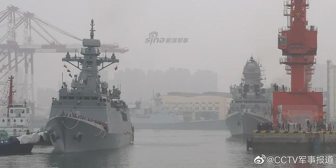 [ẢNH] Gepard 3.9 Việt Nam sánh vai cùng dàn chiến hạm hiện đại tại Trung Quốc - Ảnh 13.