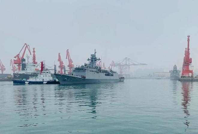 [ẢNH] Gepard 3.9 Việt Nam sánh vai cùng dàn chiến hạm hiện đại tại Trung Quốc - Ảnh 14.