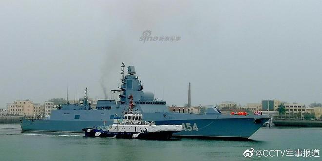 [ẢNH] Gepard 3.9 Việt Nam sánh vai cùng dàn chiến hạm hiện đại tại Trung Quốc - Ảnh 3.