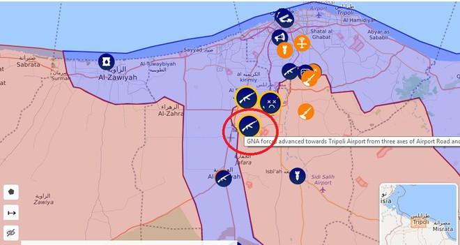 Chiến sự Libya nóng - Cánh quân miền Tây của LNA kéo về Thủ Đô, sẵn sàng đánh hủy diệt Thủ đô - Ảnh 3.