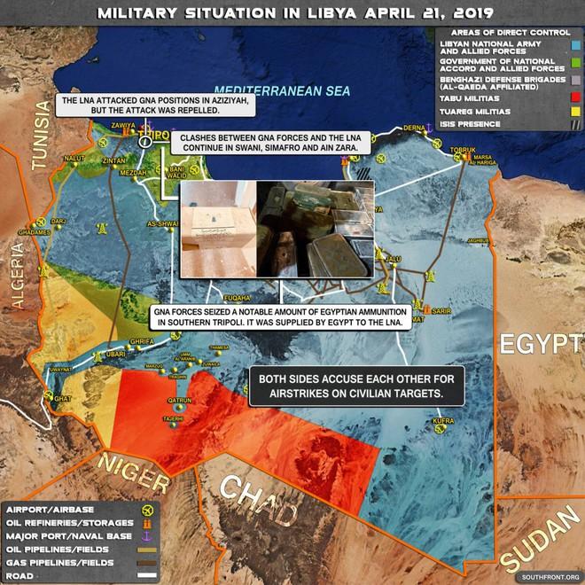 Chiến sự Libya nóng - Cánh quân miền Tây của LNA kéo về Thủ Đô, sẵn sàng đánh hủy diệt Thủ đô - Ảnh 6.