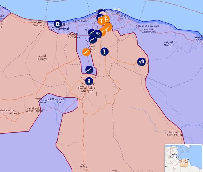 Chiến sự Libya có bước ngoặt lớn - Một chiến đấu cơ của GNA bị tên lửa phòng không bắn hạ - Ảnh 3.