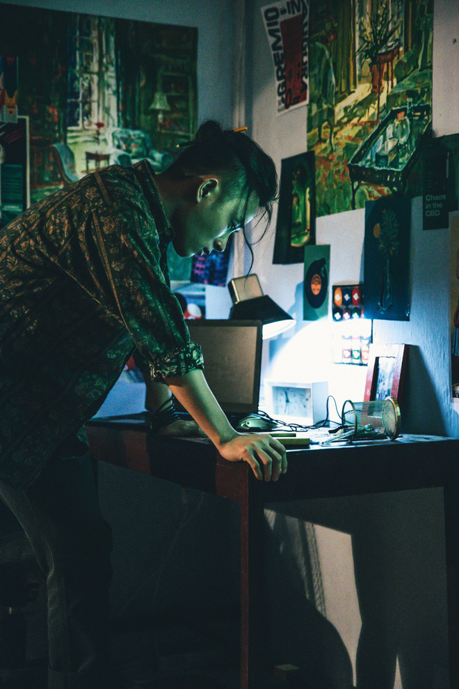Hình ảnh khác lạ của Trúc Nhân trong MV mới - Ảnh 2.