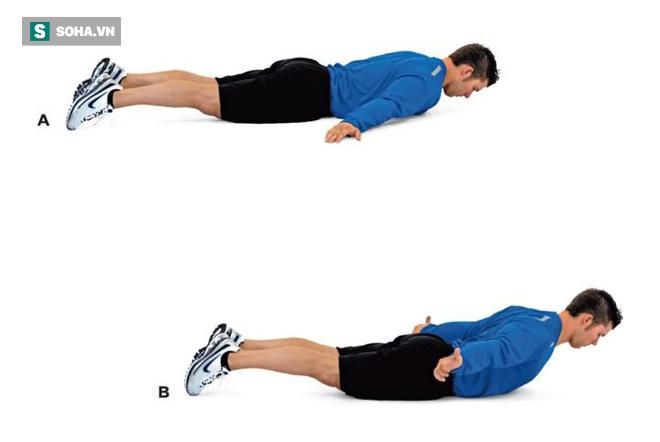 8 bài tập chữa đau lưng hiệu quả nhanh: Ai tập đều đặn sẽ không còn lo bệnh tật làm phiền - Ảnh 4.