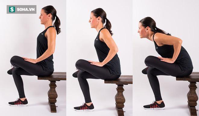 8 bài tập chữa đau lưng hiệu quả nhanh: Ai tập đều đặn sẽ không còn lo bệnh tật làm phiền - Ảnh 6.
