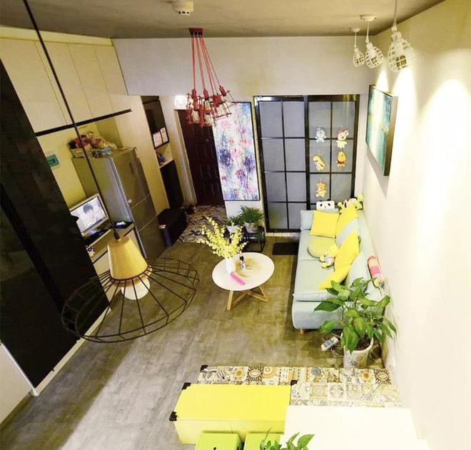 Nhà tập thể 35m² được thiết kế thông minh với 2 phòng ngủ dành cho gia đình 3 người - Ảnh 3.