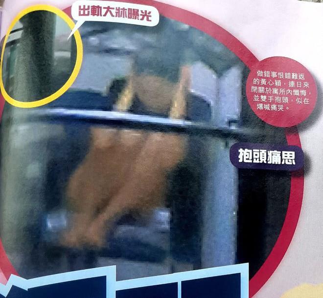 Á hậu lẳng lơ nhất Hong Kong Huỳnh Tâm Dĩnh sau scandal: Trốn biệt trong nhà, khóc lóc suy sụp tinh thần - Ảnh 3.