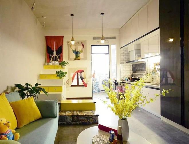 Nhà tập thể 35m² được thiết kế thông minh với 2 phòng ngủ dành cho gia đình 3 người - Ảnh 7.