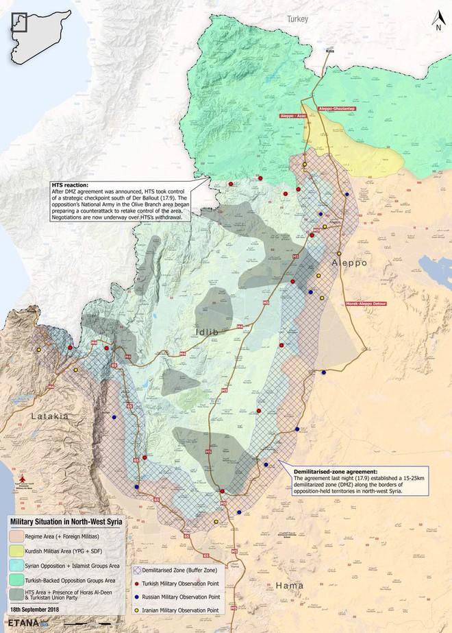 Thử thách gấu Nga ở Tây Bắc Syria: Thổ dại dột để khủng bố phát triển vượt lằn ranh đỏ - Ảnh 1.