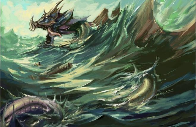 Thuồng luồng - Sinh vật thần thoại hùng mạnh bậc nhất trong dân gian Việt Nam - Ảnh 5.