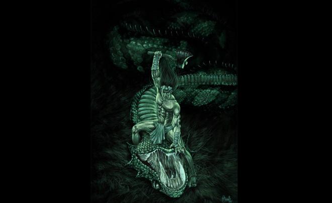 Thuồng luồng - Sinh vật thần thoại hùng mạnh bậc nhất trong dân gian Việt Nam - Ảnh 4.