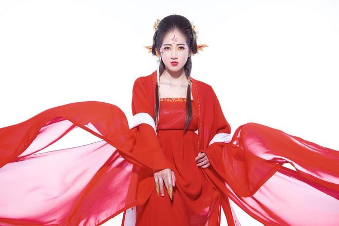 Nhan sắc cô gái thay thế hot girl Trâm Anh thủ vai chính sitcom Siêu quậy - Ảnh 4.