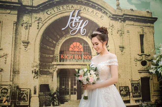 Toàn cảnh đám cưới ở Hà Nội của Giám đốc Nhà hát Kịch Hà Nội và hot girl 9X - Ảnh 6.