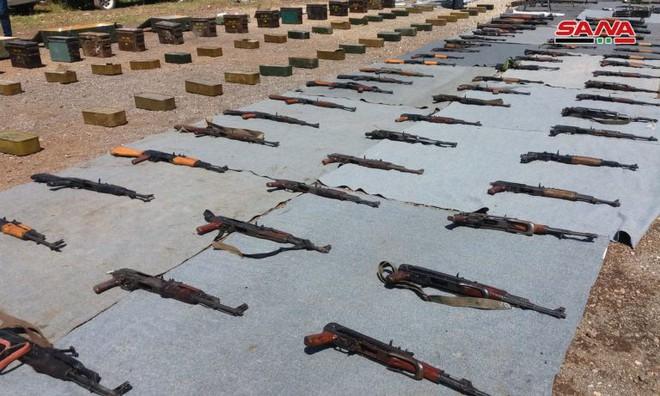 Bí mật bên trong kho vũ khí hiện đại ở Syria: Lộ diện lực lượng tình báo giấu mặt - Ảnh 2.