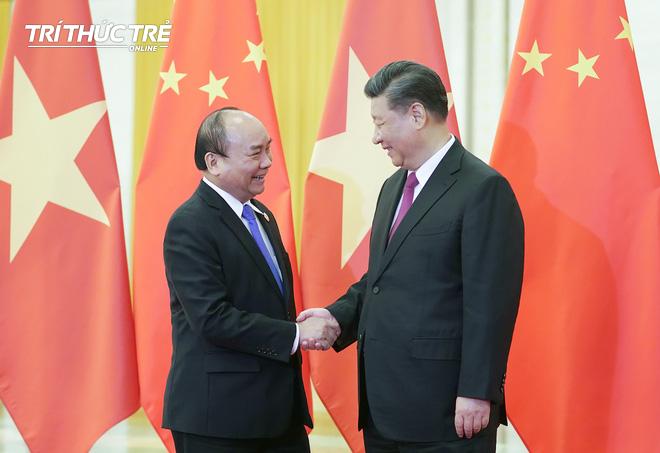 Thủ tướng hội kiến Tổng bí thư, Chủ tịch nước Trung Quốc Tập Cận Bình - Ảnh 2.