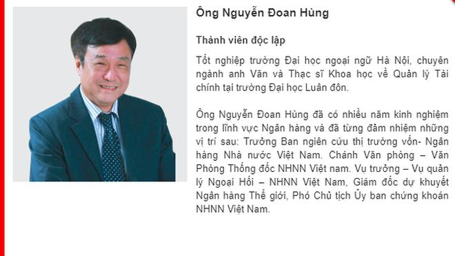 Chân dung cựu Phó chủ tịch UBCKNN vừa đầu quân vào Masan của tỷ phú Nguyễn Đăng Quang - Ảnh 1.