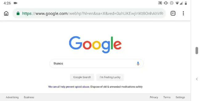 Google có chiêu trò mới, cứ search Thanos là sẽ có bất ngờ xảy ra - Ảnh 3.