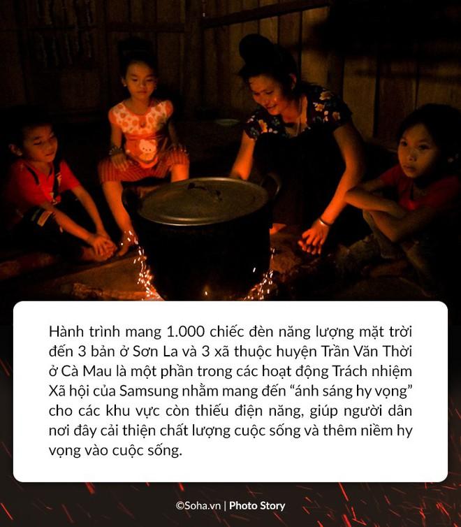 """Samsung tiếp tục dự án """"Mặt trời Mơ ước"""" viết tiếp hành trình lan tỏa ánh sáng đến vùng quê thiếu điện ở Sơn La và Cà Mau - Ảnh 6."""