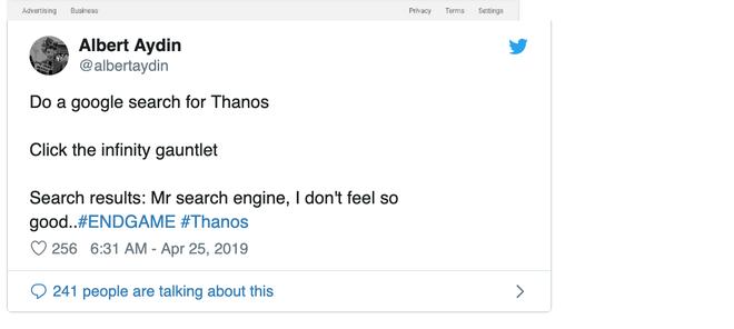 Google có chiêu trò mới, cứ search Thanos là sẽ có bất ngờ xảy ra - Ảnh 4.