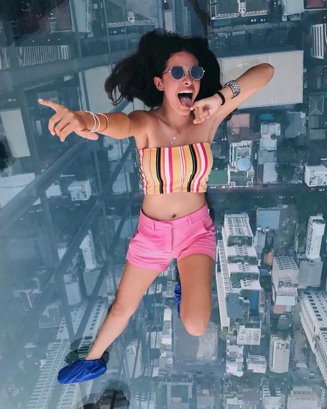 Dân tình hốt hoảng với sàn kính cao ở độ cao trên 300m ngắm trọn cảnh thủ đô Bangkok - Ảnh 16.