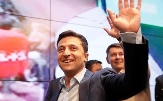"""Tổng thống đắc cử Ukraine sẵn sàng đàm phán để """"cùng tồn tại"""" với Nga"""