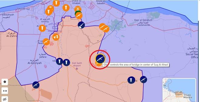 Lò lửa Libya nóng rực - Nhiều máy bay lạ tham chiến - Ảnh 4.
