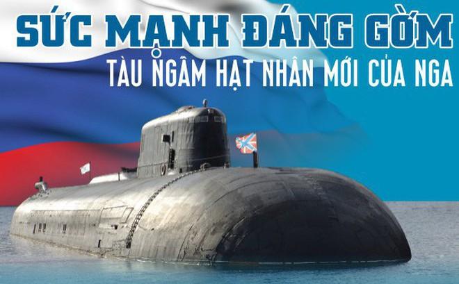 Lộ thông số bí mật của tàu ngầm Nga mang siêu vũ khí: Độc nhất vô nhị - Uy lực khủng khiếp