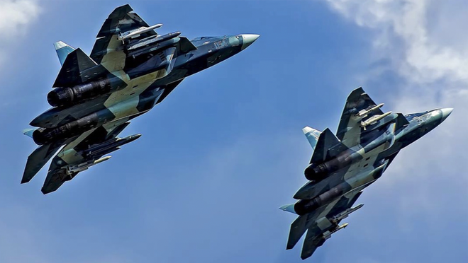 Su-57 Nga trang bị loại vũ khí cực kỳ lợi hại: Chưa từng có tiền lệ! - Ảnh 1.