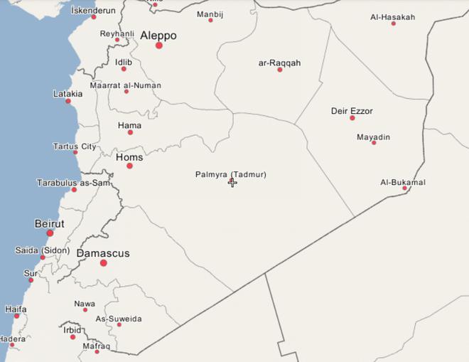 Hàng chục tên IS trốn thoát khỏi Baghouz, tấn công lớn vào quân đội Syria gần Palmyra - Ảnh 1.