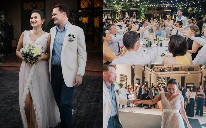 """Toàn cảnh đám cưới """"được giấu kín"""" của chồng cũ diva Hồng Nhung và diễn giả người Myanmar"""